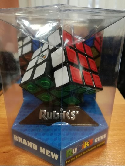 0003141 Rubiks Cube For The Visually Impaired 3X3x3 550